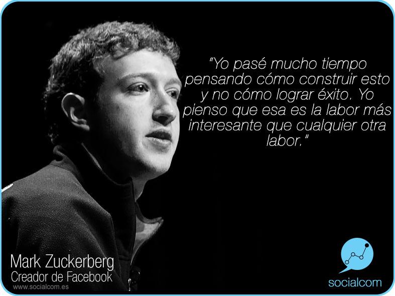 Mark Zuckerberg - por Socialcom Estrategia en Redes Sociales y Comunicación S.L.